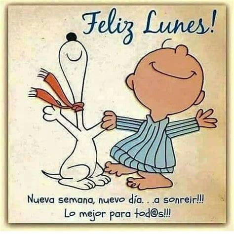 Feliz lunes | Buenos días | Frases de Snoopy, Frases y ...
