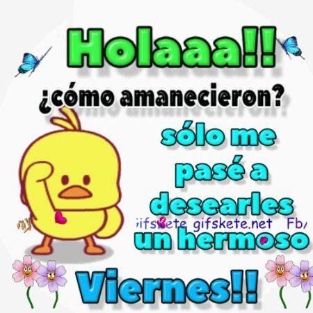 Feliz viernes !! | GifsKete | Dias | Pinterest | Feliz ...