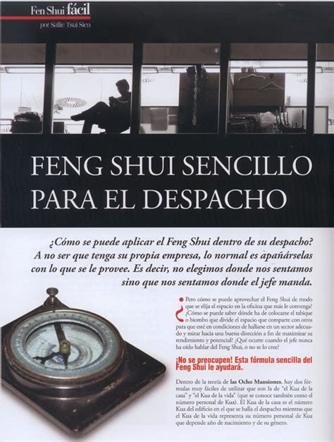 Feng Shui Foundation Barcelona - Feng Shui Para el Despacho