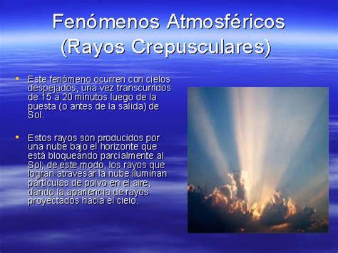 Fenómenos atmósfericos   Monografias.com