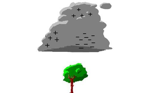 Fenómenos atmosféricos y terrestres: Tipos de rayos. 1º