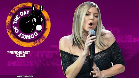 Fergie Botches The National Anthem At NBA All-Star Game ...