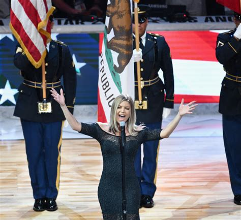 Fergie Defends Her 'Disastrous' National Anthem ...