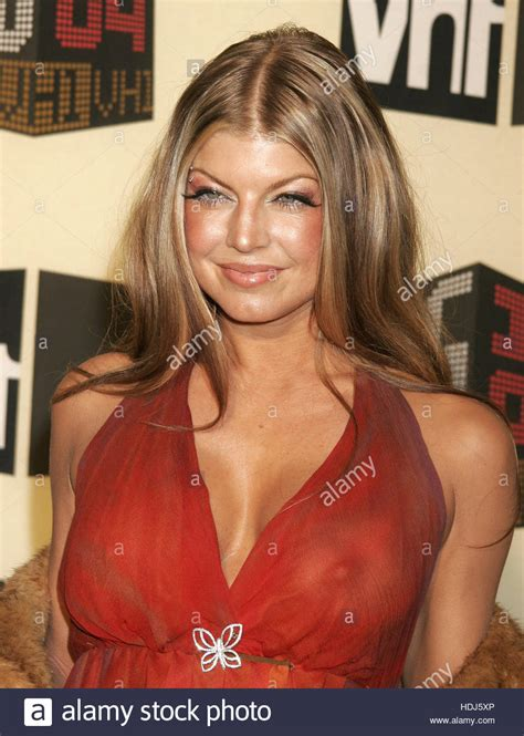 Fergie of the Black Eyed Peas at VH 1 s Big in 2004 award ...