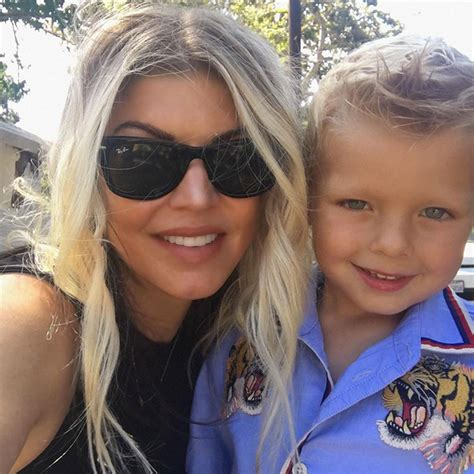 Fergie Shares Video Of Sweet  Date Night  With Son Axl ...