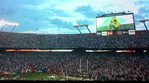 Fergie singing the national anthem @ dolphins game   YouTube