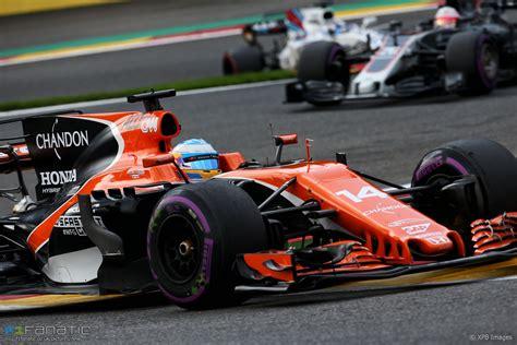 Fernando Alonso, McLaren, Spa Francorchamps, 2017 · F1 Fanatic