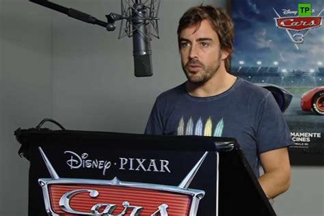 Fernando Alonso presta su voz a  Cars 3