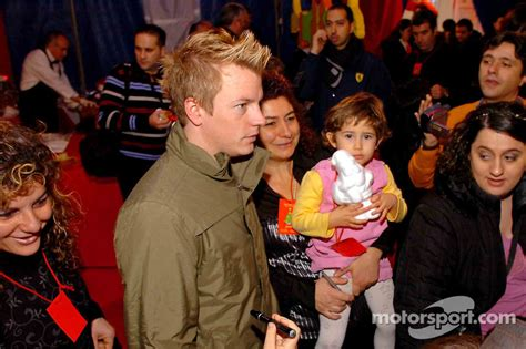 Ferrari Christmas for Kids party: Kimi Raikkonen at ...