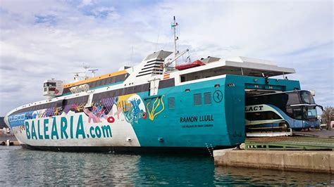 FERRYBALEAR: Baleària inicia la línea directa Dénia Formentera