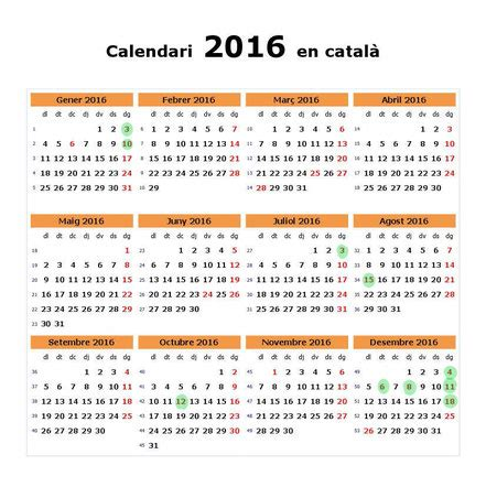 Festius autoritzats d'obertura comercial Calendari 2016 ...