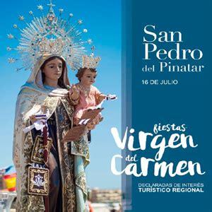 Festividad de la Virgen del Carmen en San Pedro del ...