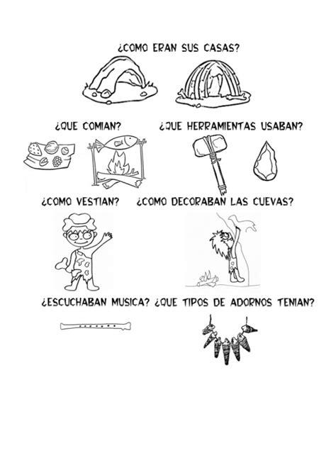 Fichas prehistoria