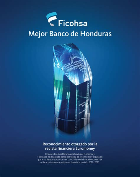 Ficohsa, el mejor Banco en Honduras según Revista ...