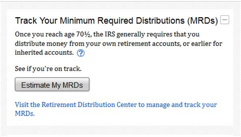Fidelity Investments: IRS Required Minimum Distribution