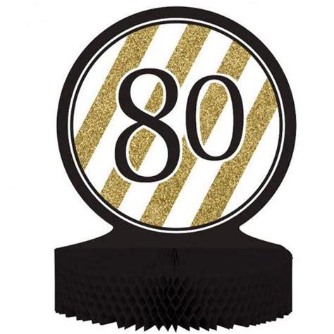 FIESTA 80 AÑOS: Centro de mesa para celebrar el ochenta ...