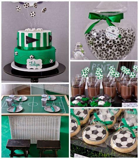 Fiesta de cumpleaños con temática de fútbol   Ideas para ...