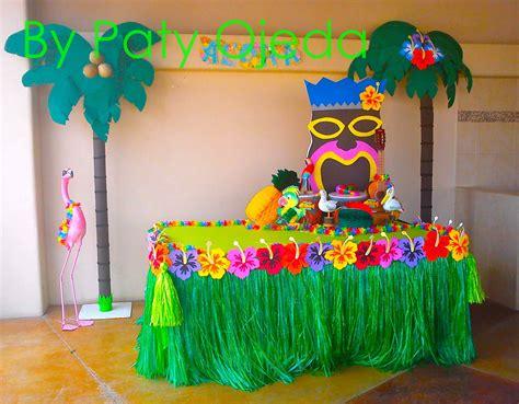 fiesta hawaiana decoracion globos - Buscar con Google ...