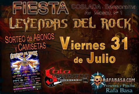FIESTA LEYENDAS DEL ROCK en Sala Sensorama de Coslada ...