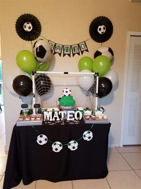 Fiesta tematica de fútbol  Party Soccer | tematica futbol ...