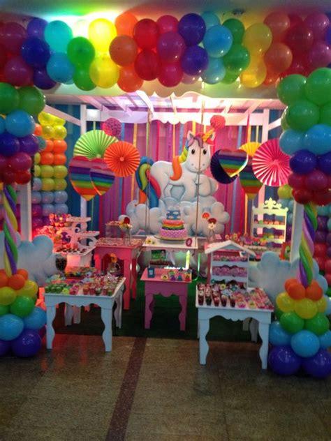 Fiesta Unicornio Arcoiris es hermosa | fiesta infantil ...