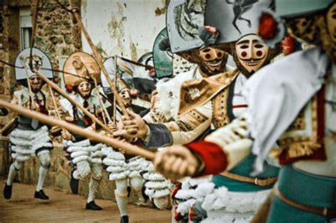 Fiestas and festivals in Galicia   Os Peliqueiros Laza   A ...