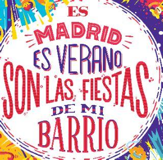 Fiestas de los distritos 2017 - Ayuntamiento de Madrid
