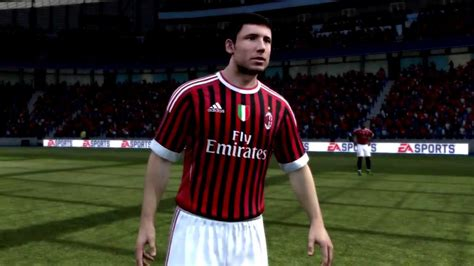FIFA 12 Demo - AC Milan First/Reserve Player Faces + Team ...