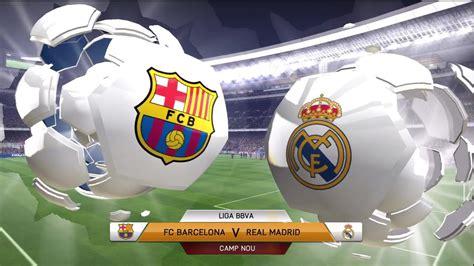 FIFA 14: FC Barcelona vs Real Madrid  Full Game    Doovi