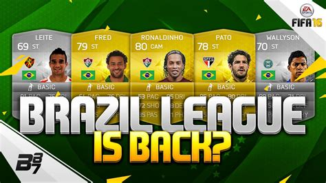 FIFA 16 | THE BRAZIL LEAGUE IS RETURNING?! - YouTube