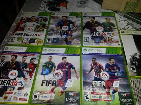 Fifa 16 Xbox 360 Nuevo En Caja Original Envio Gratis ...