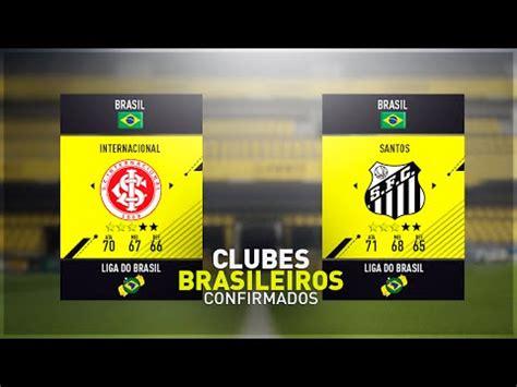 FIFA 17 - Liga do Brasil Série A e Série B Confirmados ...