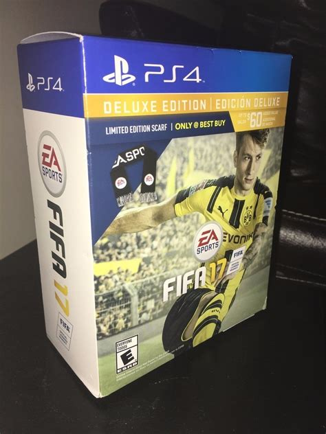 Fifa 17 Ps4 Deluxe Edition+bufanda Ea Sports+envio Gratis ...