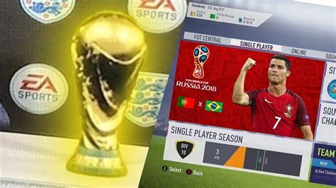 FIFA 18 | COPA DO MUNDO CONFIRMADA | CONFIRMED WORLD CUP ...