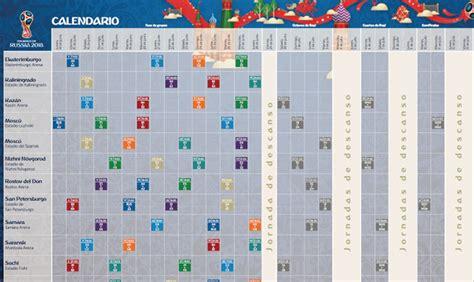 FIFA anuncia los horarios de los 64 partidos del Mundial ...