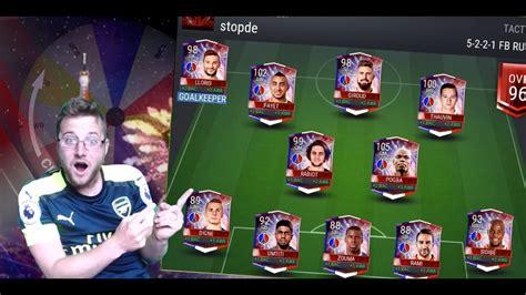 FIFA Mobile Full Bastille Day Squad Builder! The Best Ball ...