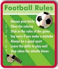 FIFA Rules and Regulations 2018 | List of 17 Football Rules