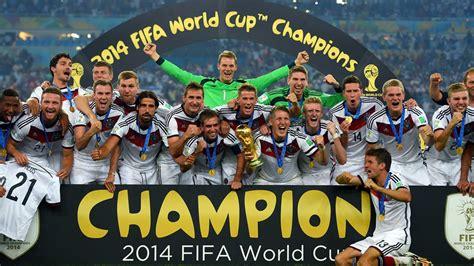 FIFA WM 2014: Deutschland feiert den vierten WM-Titel ...