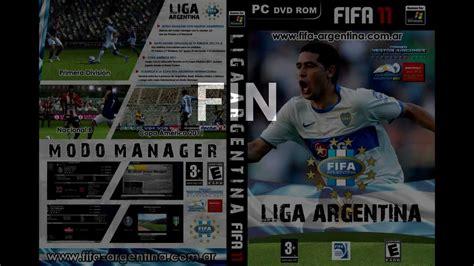 FIFA11-PARCHE * Primera División * Primera B Nacional-Liga ...