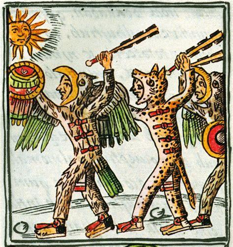 Fig 2: Guerreros mexicas, Códice Florentino, Libro 2 ...