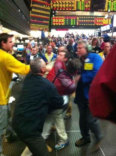 Fight At The Chicago Mercantile Exchange - Business Insider