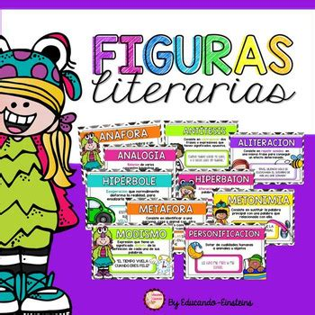 Figurative Language Posters and activities in Spanish/ Las ...