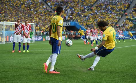 File:Brazil and Croatia match at the FIFA World Cup 2014 ...
