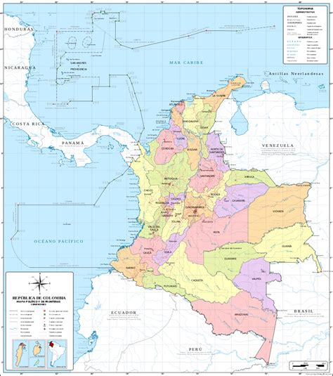 File:Colombia Mapa Oficial.svg - Wikimedia Commons