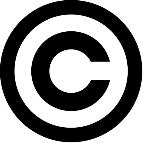 File:Copyright.svg   Wikimedia Commons
