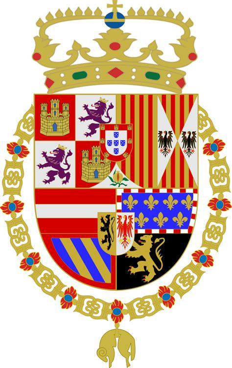 File:Escudo de Felipe II.svg - Wikimedia Commons