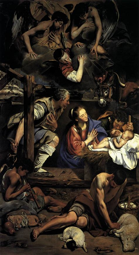 File:Fray Juan Bautista Maino - Adoration of the Shepherds ...