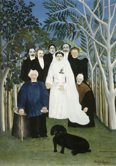 File:Henri Rousseau, dit le Douanier   The Wedding Party ...