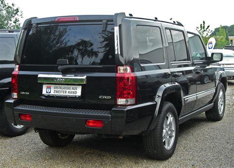 File:Jeep Commander 3.0 CRD rear.jpg