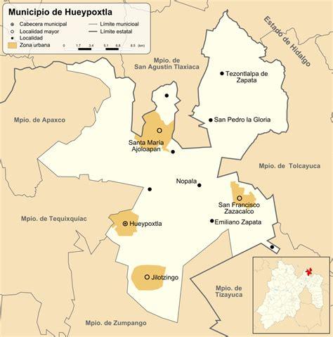 File:Mexico Estado de Mexico Hueypoxtla communities map ...